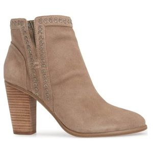 Vince Camuto Finchie Suede Booties
